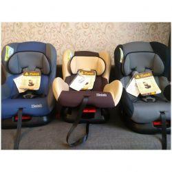 Eğimli yeni 0-18 kg araba koltukları