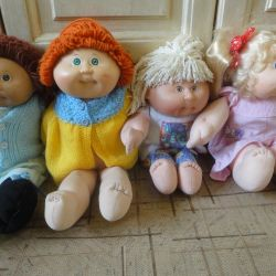 cabbage cabbage kids dolls from Matel Play El
