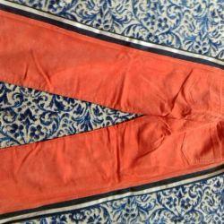 Trousers velveteen stretch