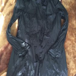 Raincoat naf naf size 34