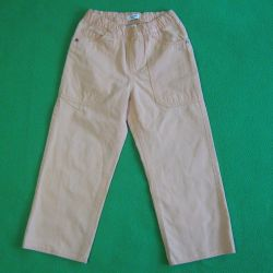 Trousers for children from cotton belt on elastic band 94