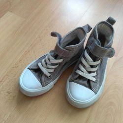 Παιδικά πάνινα παπούτσια, Επόμενες επιχειρήσεις, μέγεθος 25