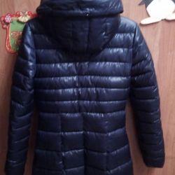 Χειμερινό παλτό για ένα κορίτσι 42 rr