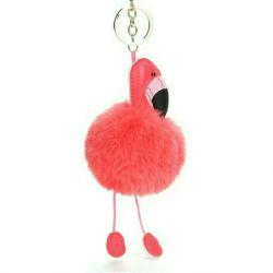 Flamingo keychain