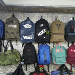 Backpacks and sports bags