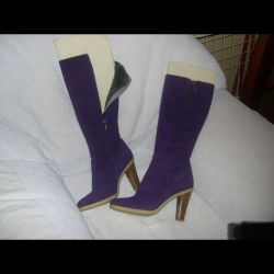 Suede boots-Winter MODA DONNA / Italy 39р