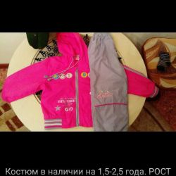 Suit for 2-3 years.