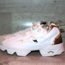 Spor ayakkabı insta pompası