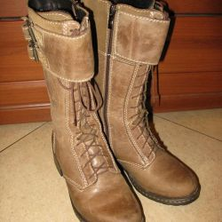 Boots Poland, r. 37, Nat. leather