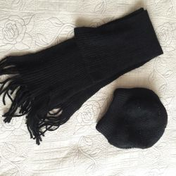 Шапка і шарф, зима