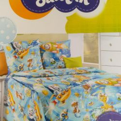 Bedding in bed