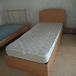 Used bed with mattress