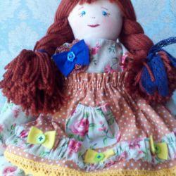 Handmade doll.