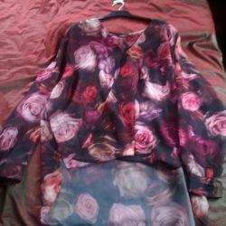 Новая блуза р.48-52
