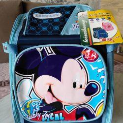 Backpack ORTO Mickey Blue satchel