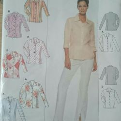 BURDA Pattern, Shirt