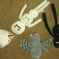 Örümcek, iskelet minecraft