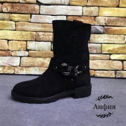 Χειμερινές μπότες σουέντ
