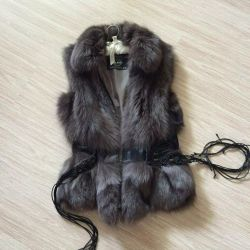 Меховой жилет Fur Natural