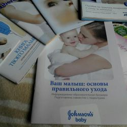 Brochures for future moms and reals