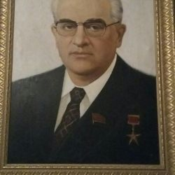 Portretul lui Y. Andropov