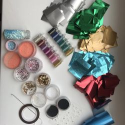 Materials for nails