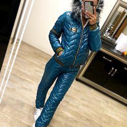 Зимний лыжный прогулочный костюм 7
