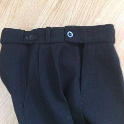 Trousers school warmed