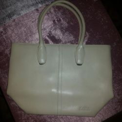 Leather bag Zara