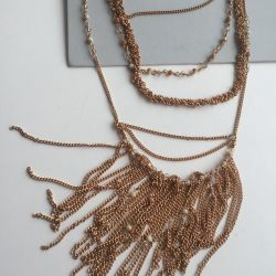 Gold trendy decoration copper