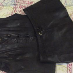 Leather suit female BU