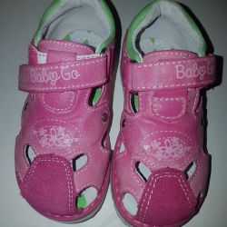 Baby go, new sandals for kids