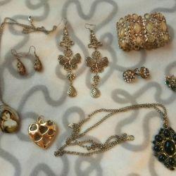 Jewelry jewelry earrings bracelet pendant necklaces