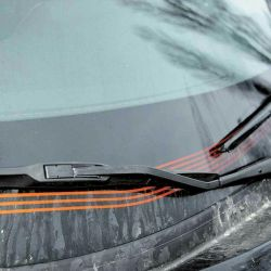 Heated windshield