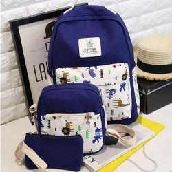 Backpack handbag cosmetic bag