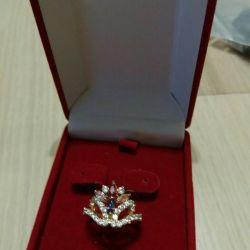 Δαχτυλίδι κρυστάλλου Swarovski