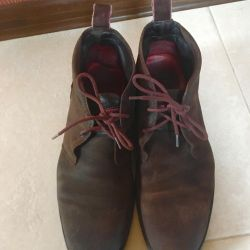 Замшеві черевики Tommy Halfiger оригінал