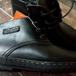 Χειμερινά μπότες ανδρών των νέων ανδρών 43