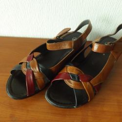 Sandals genuine leather 39 size