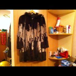 Mink fur coat 48-50