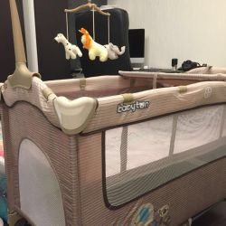 Прокат манеж-кровать Babyton