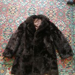 Шуба мужская+перчатки 52-54 размер 🌰