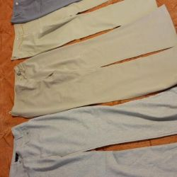 Women's summer pants all together