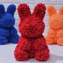 Gül güzel tavşan. Farklı renkler !!