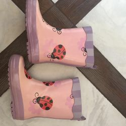 Καουτσούκ μπότες ως νέα 24 r