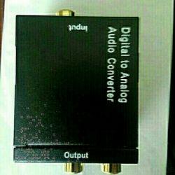 Ціфренно-Аналоговий аудіо конвертер