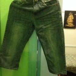 Детские джинсы голубые фирма futurino р. 134-140