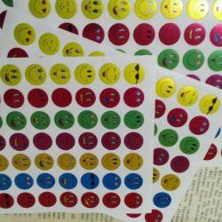 Αυτοκόλλητα Emoticons 10 φύλλα