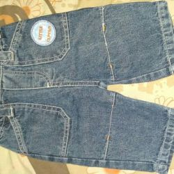 Children's jeans 62 and 68 sizes