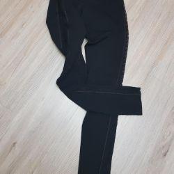 Incredible leggings-panties with side gepyur.42-44